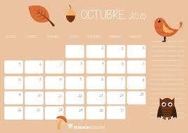 imagenes calendario octubre 2015 para imprimir calendario octubre 2015