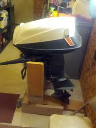 1963 electric start evinrude 28 hp speed twin model 28302a