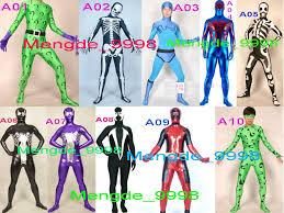 Spawn Costume Fantastic 9 Style Superhero Costumes Unisex Lycra Riddler Suit