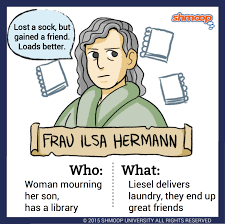 best quote from the notebook movie frau ilsa hermann in the book thief