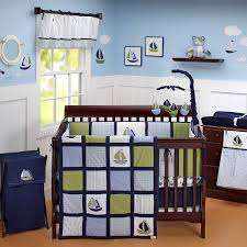 Nautical Baby Crib Bedding Sets Zachary 6 Comforter Set Crib Bedding