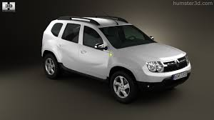renault duster white 360 view of renault duster 2011 3d model hum3d store