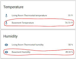 Basement Humidity - mqtt temperature and humidity monitor for home assistant hackster io