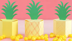Paper Pineapple Decorations Paper Projects And Paper Craft Ideas
