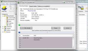 File Resume Download File Transfer Resuming A Download Using Internet Download
