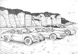 colour classic car u2013 coloring book hooniverse