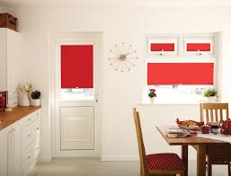kitchen fresh red kitchen blinds designs and colors modern