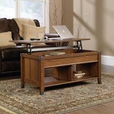 sauder carson forge lift top coffee table cherry ebay