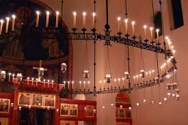 What Does Chandelier Mean Lighting In Orthodox Churches Liturgical Principles And Practical