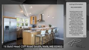 Maine Coast Kitchen Design by 16 Bald Head Cliff Road South York Me 03902 Youtube