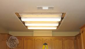 Kitchen Ceiling Light Fixture Removing A Fluorescent Kitchen Light Box The Six Fix