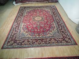 Ebay Antique Persian Rugs by Red Blue Handmade Rug Charming Isfahan Quality 10 U0027 X 13 U0027 Persian