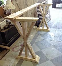 Entryway Console Table by Diy Entryway Table Sofa Table Diy Sofa Table Rustic Entryway