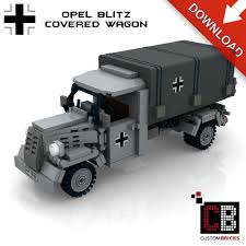 opel truck ww2 custom pdf bauanleitung ww2 opel blitz planwagen hoheitskreuz für