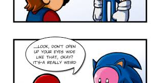Sonic The Hedgehog Meme - sonic the hedgehog mario more than meets the pink eye meme
