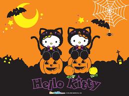 halloween backgrounds desktop hello kitty halloween backgrounds wallpapersafari