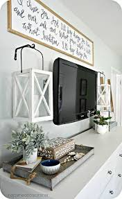 Wall Decorations For Bedrooms Best 25 Tv Wall Decor Ideas On Pinterest Tv Decor Tv Stand