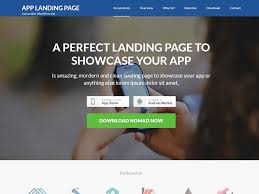 landing page u2014 free wordpress themes
