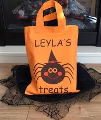 personalised halloween treat bag u2013 pieridae gifts