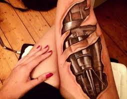 50 realistic 3d tattoos designs for men and women 2017