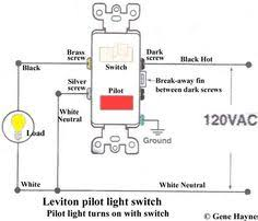motor rated switch with pilot light how to wire switches combination switch outlet light fixture turn