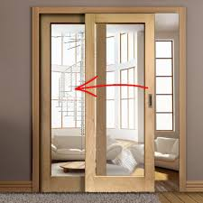 easi slide oak room divider door system sliding doors