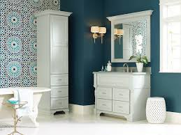 White Cabinets With Blue Walls Furniture Elegant White Aristokraft Cabinets With Black Handle