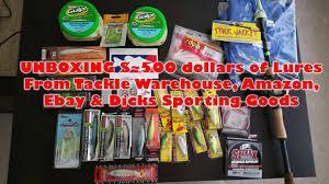 when is ebay and amazon black friday 500 unboxing tackle warehouse u0026 more lures tackle for 2016 ebay