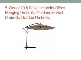 Best Offset Patio Umbrella Top 11 Best Offset Patio Umbrellas