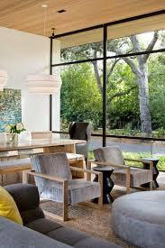 Wohnzimmer Modern Beton Beton Wand Und Helles Holz Für Einrichtung Und Fassade Eines Hauses