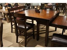 homelegance dining room counter height table mango veneer 5547 36