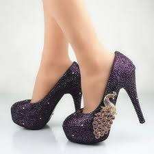 Wedding Shoes Purple Shop For Trendy Shoes At Marks Urban Wear Bridal Accessory