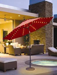 Patio Umbrella Led Lights by Led Lighted