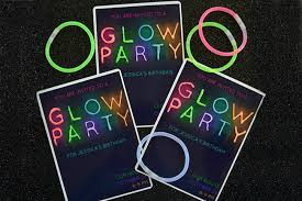glow party ideas 21 clever glow in the party ideas your kids would