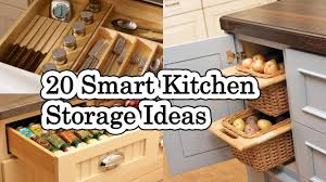 kitchen storage furniture ideas 20 smart kitchen storage ideas