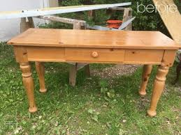 How To Build A Sofa Table by Diy Raised Garden Bed From An Old Sofa Table Refresh Living