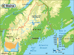 map of maine cities maine counties map