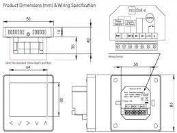 electric underfloor heating thermostat wiring diagram electric