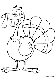 printable thanksgiving coloring page of a handprint turkey happy