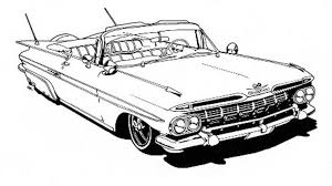 coloring pages of lowrider cars book review i lowrider coloring book i autoweek