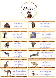 vocabulaire afrique nurvero école pinterest vocabulaire