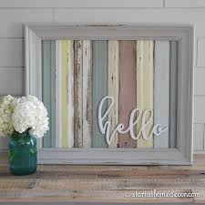 Home Decor With Wood Pallets Start At Home Decor U0027s Reclaimed Wood Signs With Wood Word Cutouts