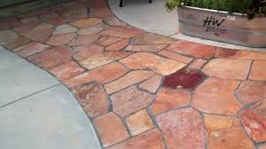 Slate Rock Patio by How To Lay Flagstone Installing A Flagstone Patio Youtube