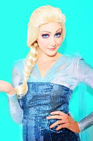 elsa costume halloween makeup ideas