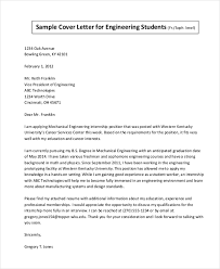 sample cover letter for internship 9 free documents in doc pdf
