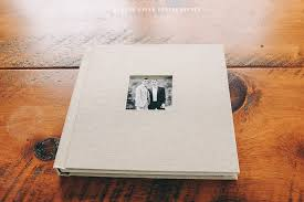 Custom Wedding Albums Linen Wedding Album With Custom Box Hudson Valley Wedding