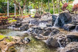 Water Rock Garden Free Images Landscape Nature Outdoor Rock Waterfall