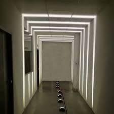 180 degrees 10w led windowsill outline lights hotel ktv bar