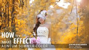 photoshop tutorial easy colors autumn effect
