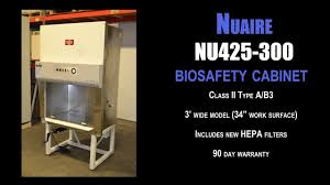 Telstar Biosafety Cabinet Nuaire Nu425 300 Biosafety Cabinet 0871 Bio Cab Youtube